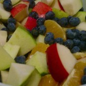 "Fruit Salad with Yogurt ""Dressing"""