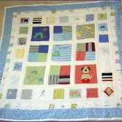 Keepsake Quilts: Make a Quilt from Baby Clothes