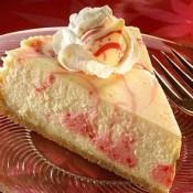 Candy Cane Swirl Cheesecake