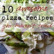 10 Pizzas to Cook on a Pizza Stone