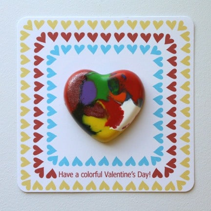 valentines for preschoolers crayons