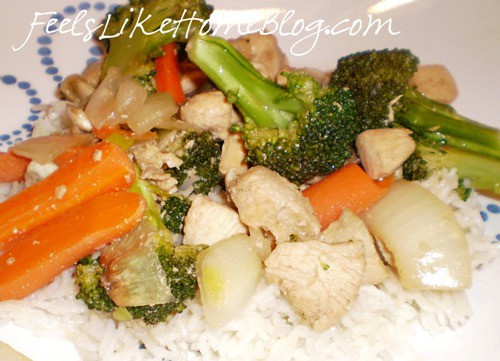 garlic stir fry