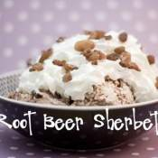 Root Beer Sherbet (or Any Soda Pop Flavor)