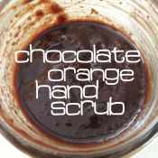 Chocolate Orange Hand Scrub Recipe