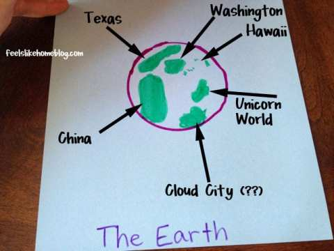 Where Do I Live Elementary Geography Activity