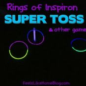 Glow in the Dark Ring Toss and Other Games