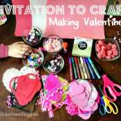 Invitation to Craft – Making Valentines