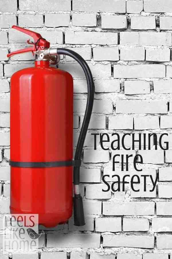 Homeschoolers in most states have to teach fire safety. Here are some great resources to help you teach fire safety in a really easy, fun way.