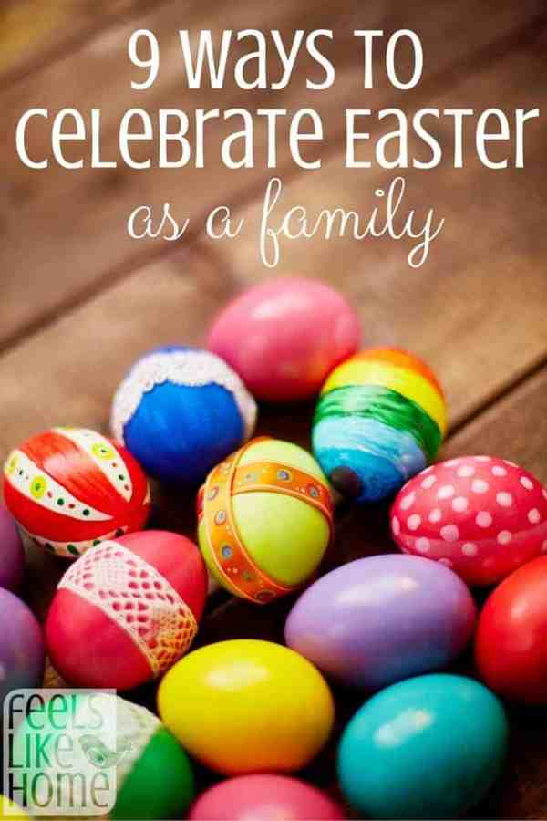 Easter is so much fun for kids, but how do parents get in on the action? Here are 9 ways for the whole family to get involved in the good time!