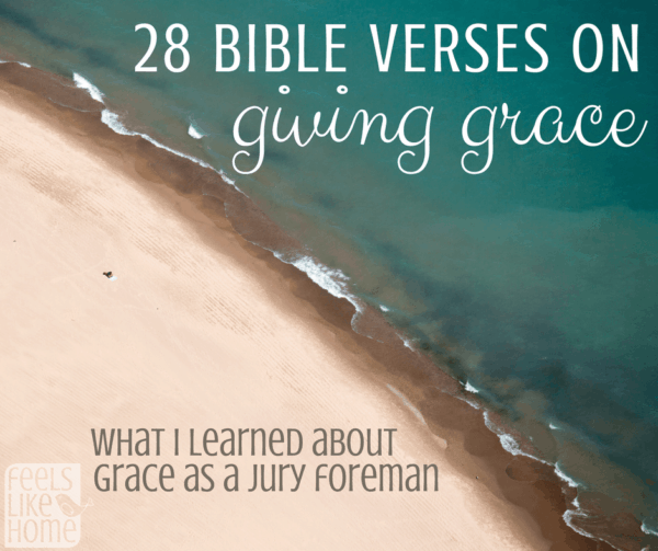 28 Bible Verses about giving grace to others - These scriptures show how Jesus and others extended grace throughout life. Christians are called to forgive as Jesus forgave, and this post is about encouragement and strength to do that. Includes an amazing story about giving grace in real life!