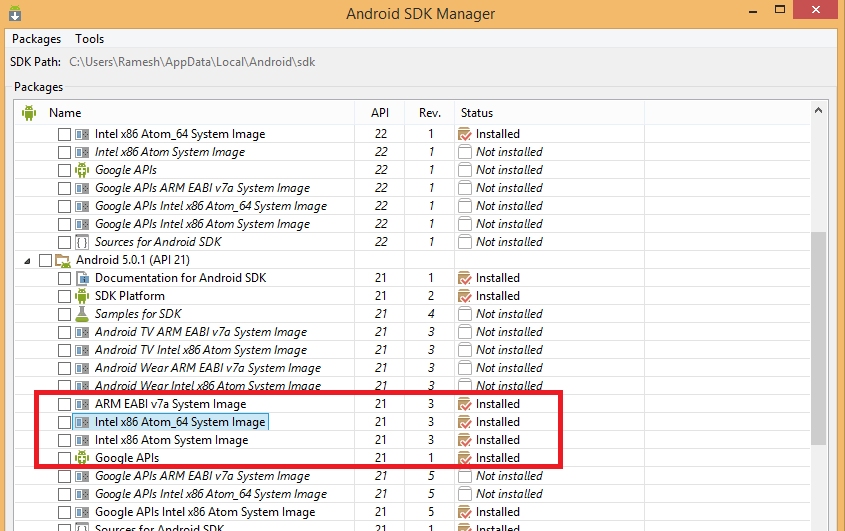 Android Studio Emulator not working Solution