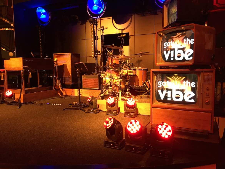 Got the vibe band vintage retro band | feestband.com hammond
