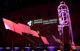 Offshore Energy Opening Gala Dinner en Industry Awards Show 2017 Scheepsvaartmuseum feestband.com