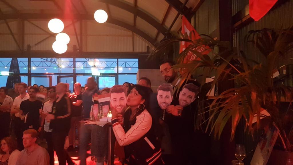 Eurosongfestival avond wordt historische moment bij Pllek in Amsterdam | feestband.com