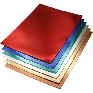 metallic folie karton