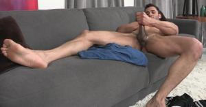 Jerk off on couch