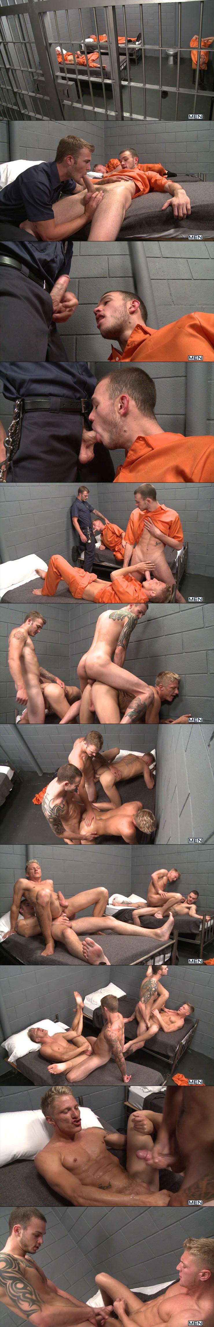 men-drill-my-hole-the-slammer-phillip-aubrey-gavin-waters-cliff-jensen-christian-wilde-prison-group-sex-tattoos-stills