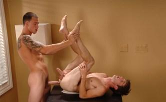 NextDoorStudios NextDoorTwink Pleasure Is Afoot Kurt Wild Cliff Jensen Condom Gay Sex Tall Guy Fucks Short Guy Big Cock Male Feet feat