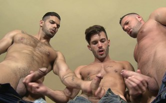 Kristen Bjorn Wild Seed Lucas Fox Gabriel Lunna, Andy Stars Threesome Gay Bareback Fuck Uncut Cocks Facial Hair Tall Short Men Spanish Studs feat