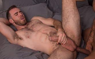 TitanMen Taxxx Jason Vario Fucks Hairy Ass Matthew Bosch Interracial Condom Sex Hairy Man Huge Uncut Cocks feat