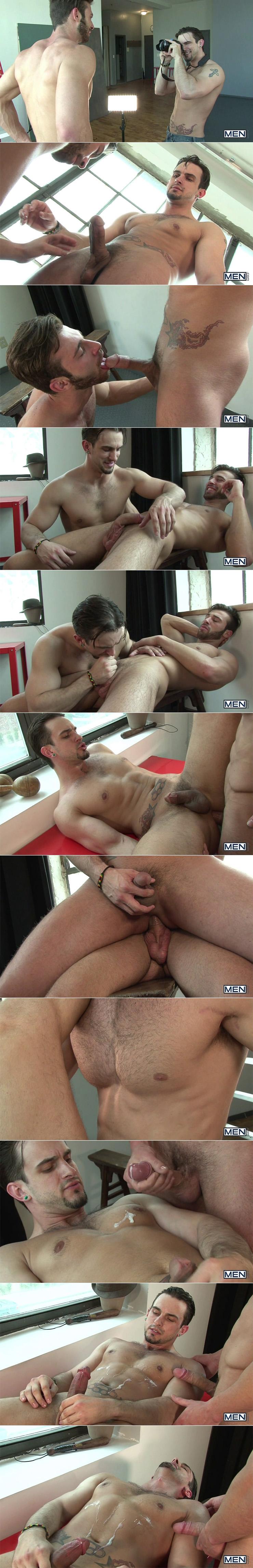 MEN Body Shots Jarec Wentworth Phenix Saint Gay Condom Sex male Feet Big Uncut Cock Oral Sex Cumshots Tattoos stills