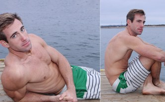 Sean Cody Willis Solo Masturbation Scene Big Fat Cock Male Feet Toes Hairy Chest Armpits Athletic Stud feat