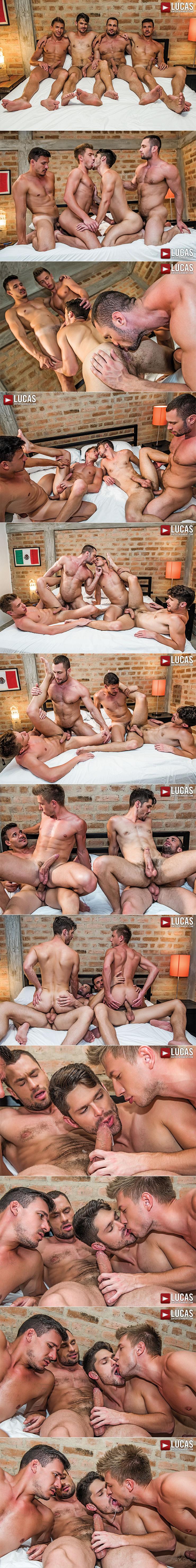 Lucas Entertainment Greedy Holes Devin Franco Bogdan Gromov Bottom For Stas Landon Roman Berman Male Feet Soles Bareback Sex Uncut Cocks 2
