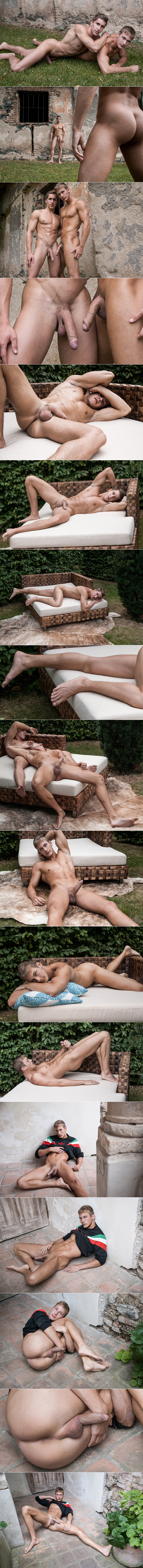 BelAmi Rick Day Art Collection Marcel Gassion Raphael Nyon Photoshoot Big Uncut Cocks Closeup Penis Male Feet Soles Toes 2