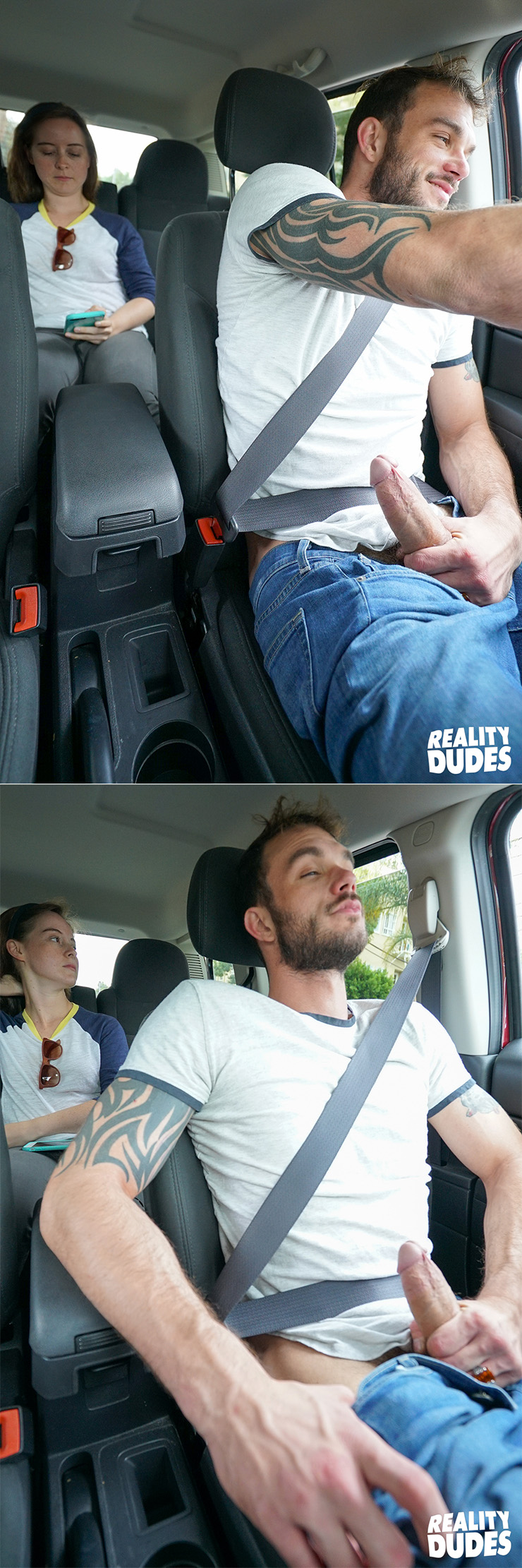 Reality Dudes Dudes In Public Dirty Driver Cliff Jensen Big Cock Solo Masturbation Scene 1