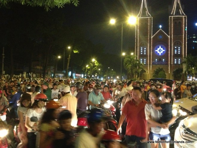 New Years Eve HCMC