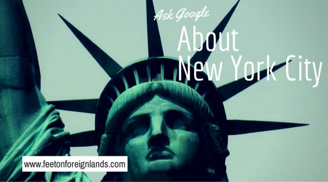 ask google about NYC