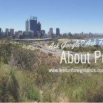 Ask Google about Perth? Ask Fairlie!