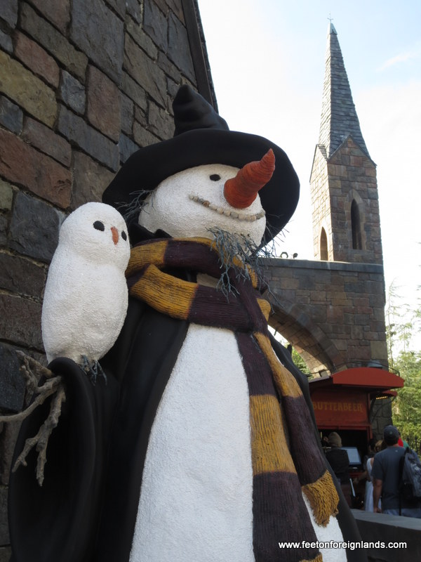 Hogsmeade snowman