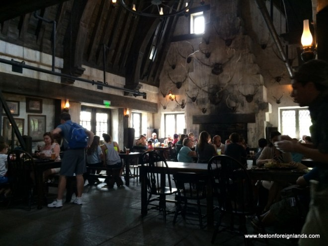 Inside Three Broomsticks