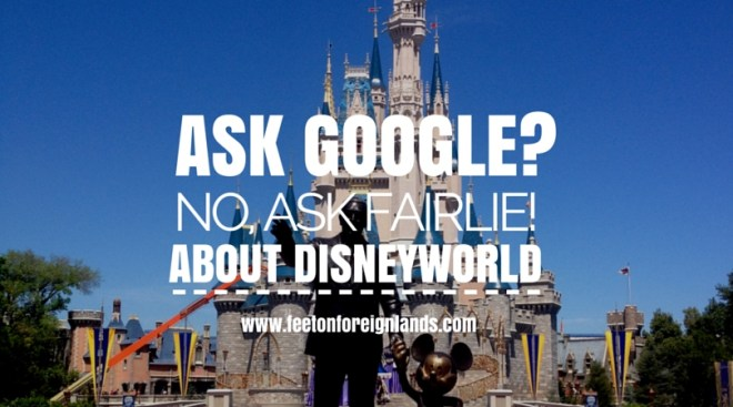 Ask Google about Disneyworld