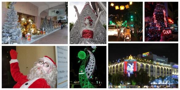 Christmas away from home - HCMC Vietnam
