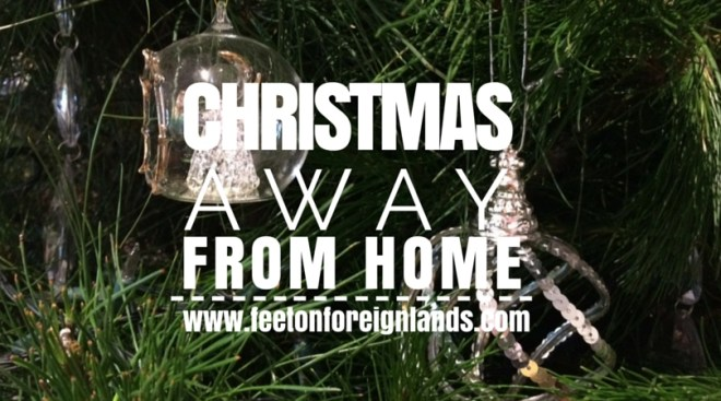 Christmas away from home