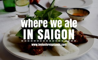 Great HCMC restaurants: www.feetonforeignlands.com
