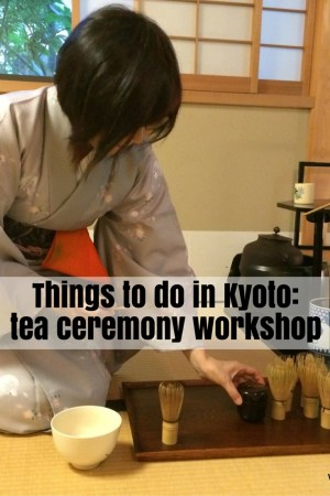 Tea Ceremony Ju-An Kyoto