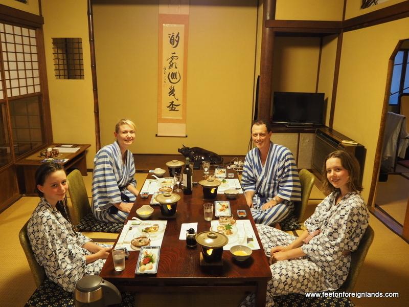 Our Experience At Fukuzumiro Ryokan In Hakone Feet On