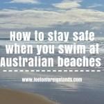 Are Australian beaches safe?