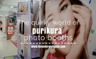Purikura photo booths in Japan
