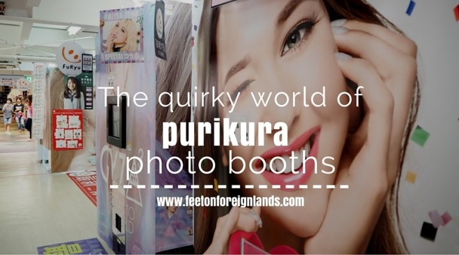 Purikura photo booths in Japan