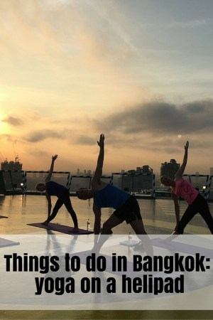 Yoga on the helipad at The Peninsula Bangkok (10)