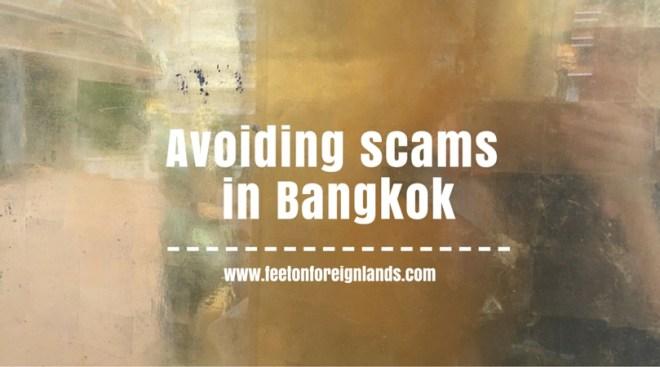 Avoiding scams in Bangkok