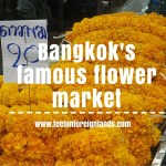 Bangkok flower market (Pak Klong Talat)