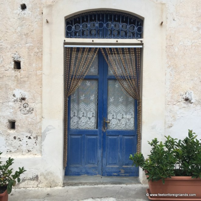 Doorways of Salina in the Aeolian Islands (4)
