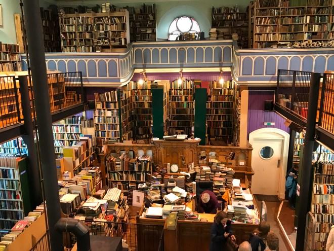 Interesting bookshops of Scotland - Feet on Foreign Lands