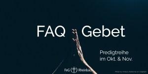 FAQ Gebet