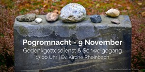 Read more about the article Gedenkgottesdienst & Schweigegang